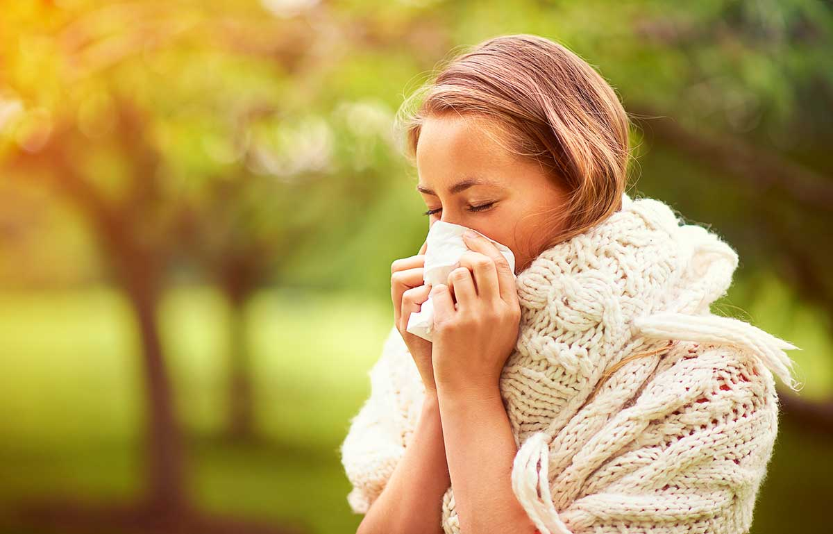 Carenow treating cold symptoms and runny nose